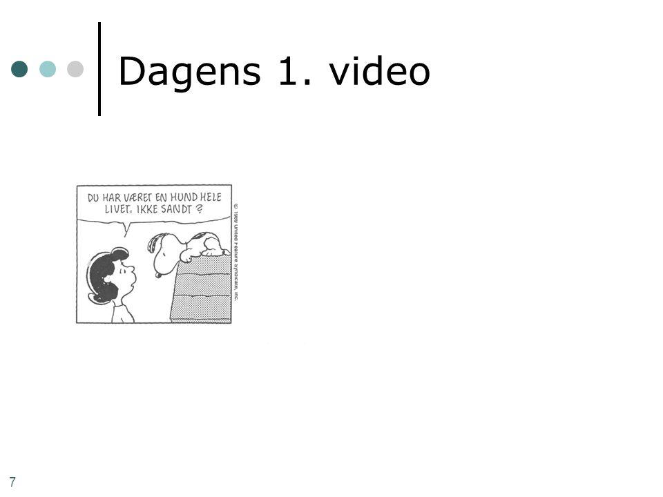 7 Dagens 1. video