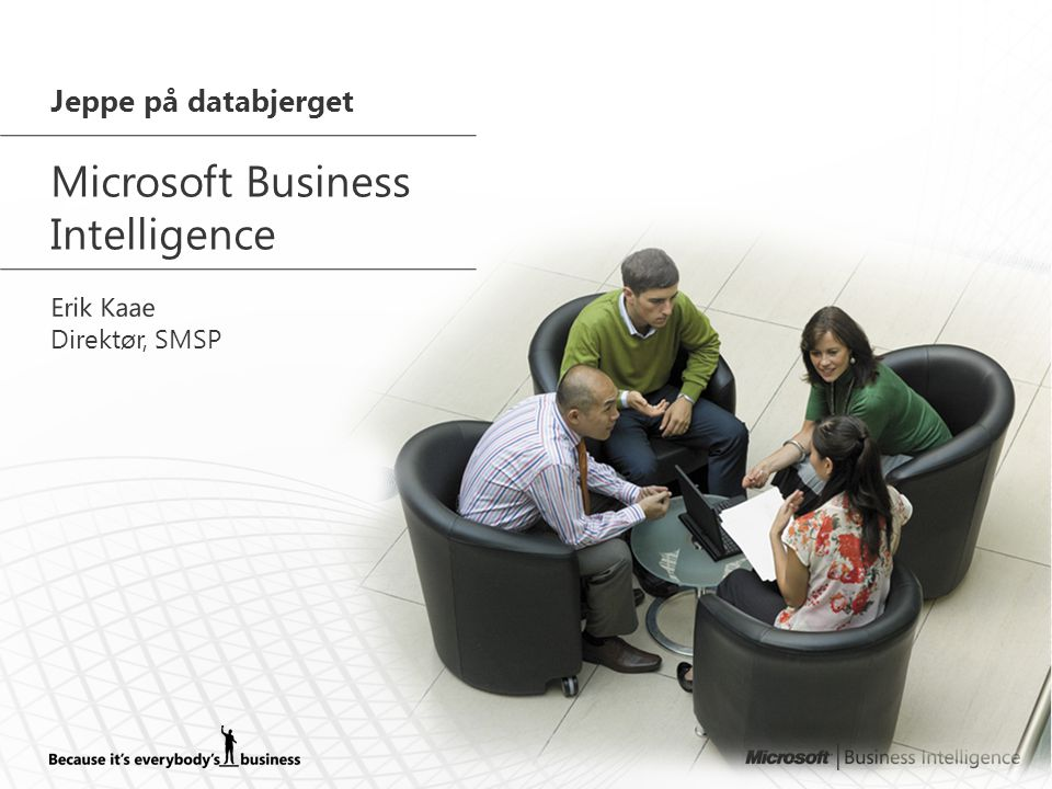 PricewaterhouseCoopers ? Business Intelligence