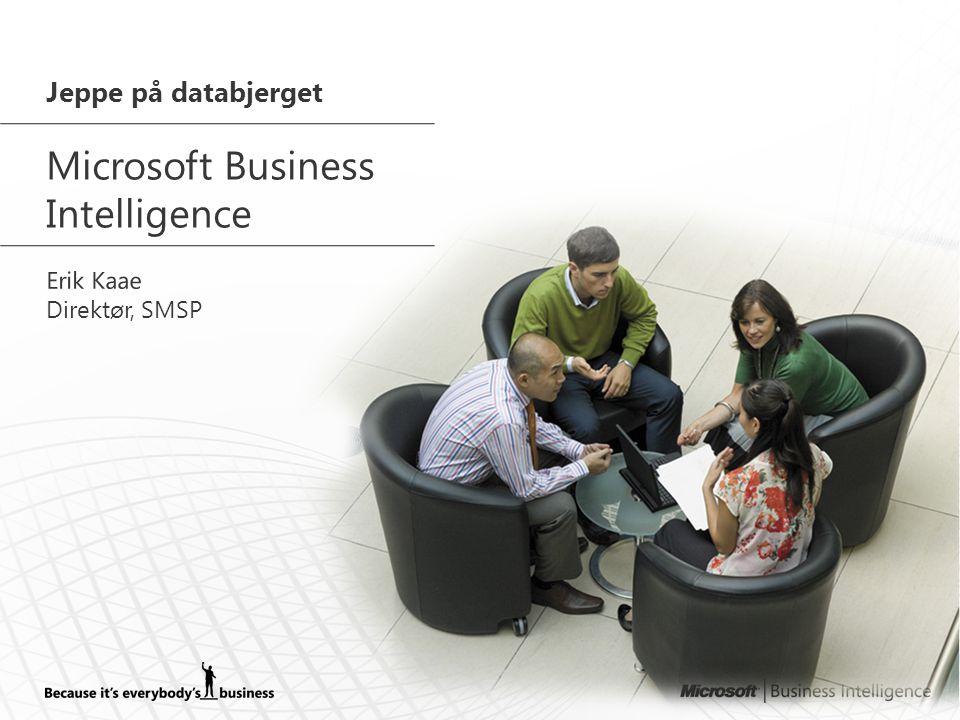 Microsoft Business Intelligence Jeppe på databjerget