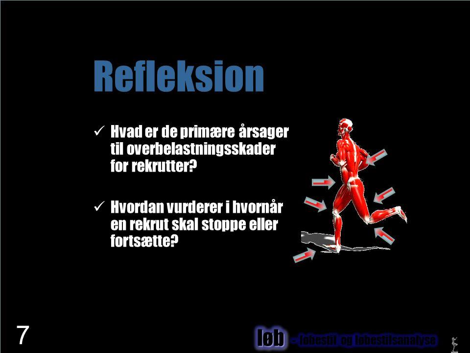 www.netfysioterapi.dk Copyright © 2010 Lars Henrik Larsen Refleksion  Hvad er de primære årsager til overbelastningsskader for rekrutter?  Hvordan v