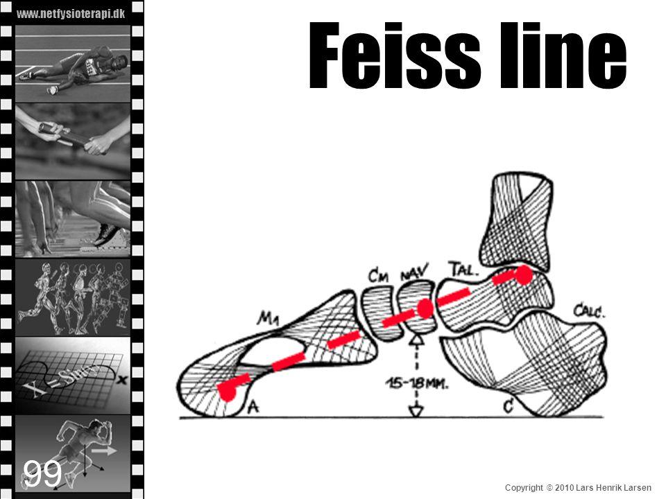 www.netfysioterapi.dk Copyright © 2010 Lars Henrik Larsen Feiss line 99