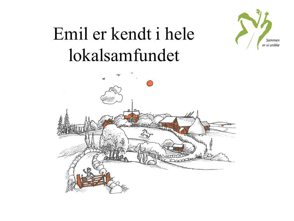 Emil er kendt i hele lokalsamfundet