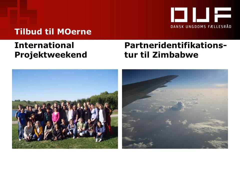 Tilbud til MOerne International Projektweekend Partneridentifikations- tur til Zimbabwe