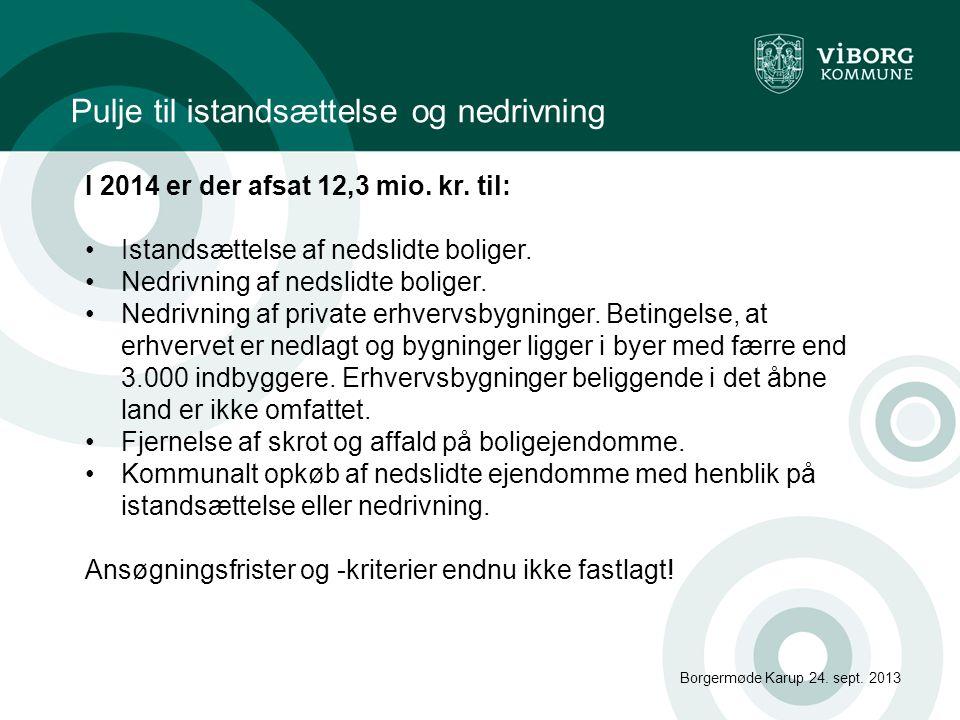 Borgermøde Karup 24.sept.