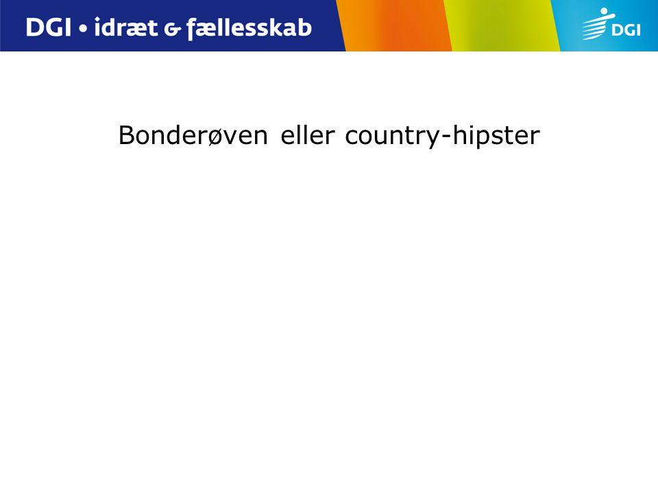 Bonderøven eller country-hipster