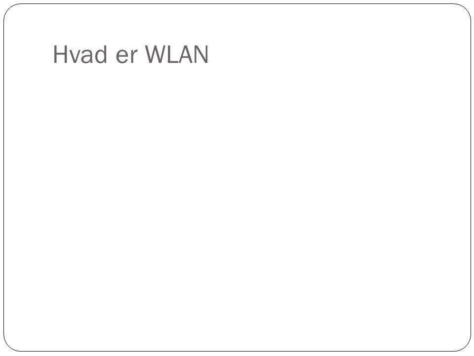 Hvad er WLAN