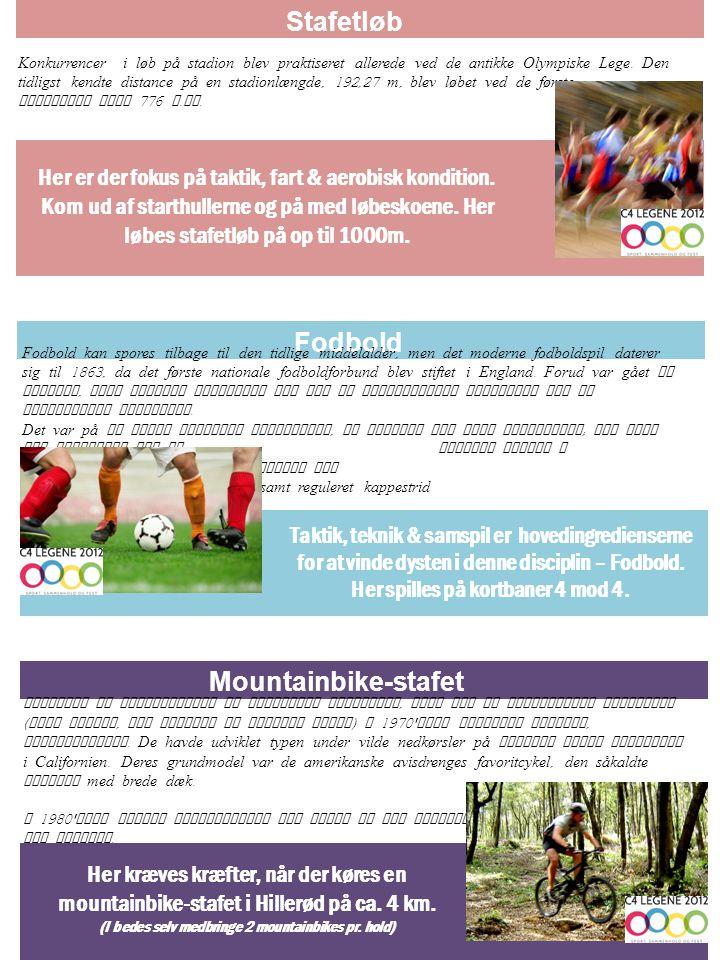 Konkurrencer i løb på stadion blev praktiseret allerede ved de antikke Olympiske Lege.