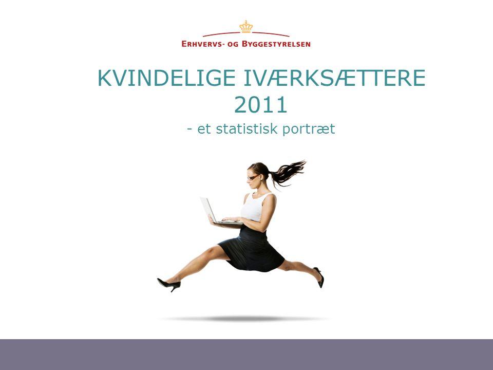 1 KVINDELIGE IVÆRKSÆTTERE 2011 - et statistisk portræt