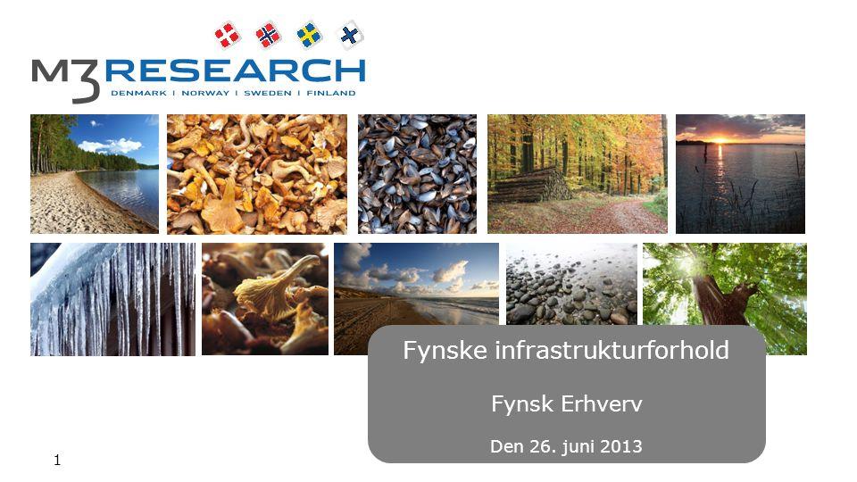 Fynske infrastrukturforhold Fynsk Erhverv Den 26. juni 2013 1