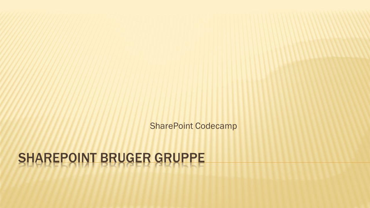 SharePoint Codecamp