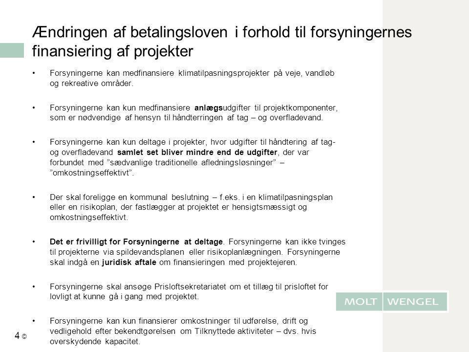 Ændringen af betalingsloven - pr.1.