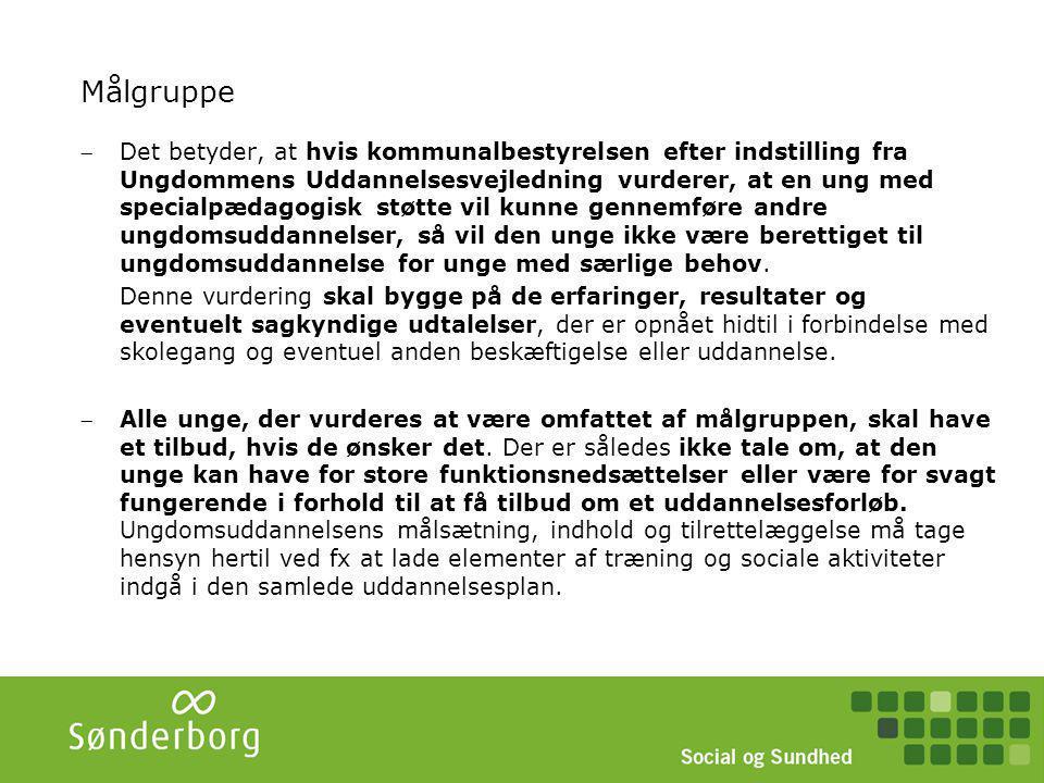 Tidslinje STU – fra vejledning til udslusning VejledningMålgruppe- vurdering UU/ afdække alternativer indstillingVisitation/ Målgruppe- vurdering i Visitations- udvalg Drøfte STU tilbud + evt.