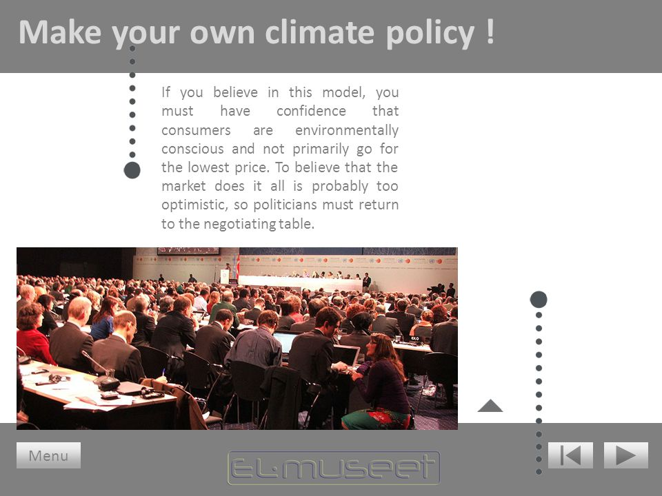 Make your own climate policy .