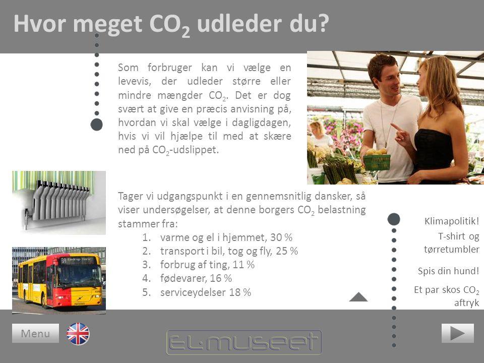 Hvor meget CO 2 udleder du.