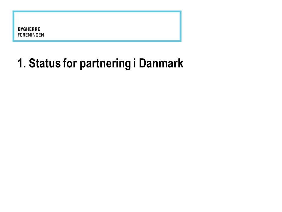 1. Status for partnering i Danmark