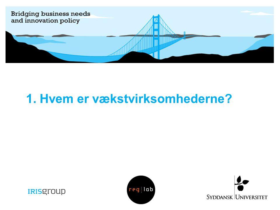 1. Hvem er vækstvirksomhederne?