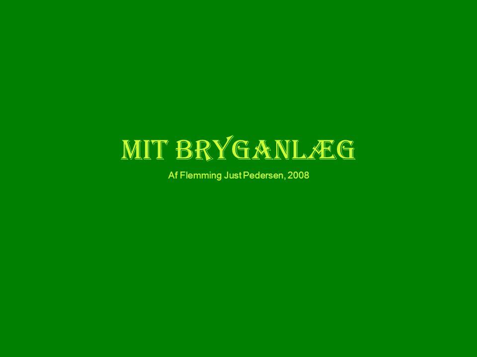 Kogekar & mæskekar •Mit bryganlæg er grundlæggende baseret på to ens plastikkasser fra Jem og Fix (bedroller typen).