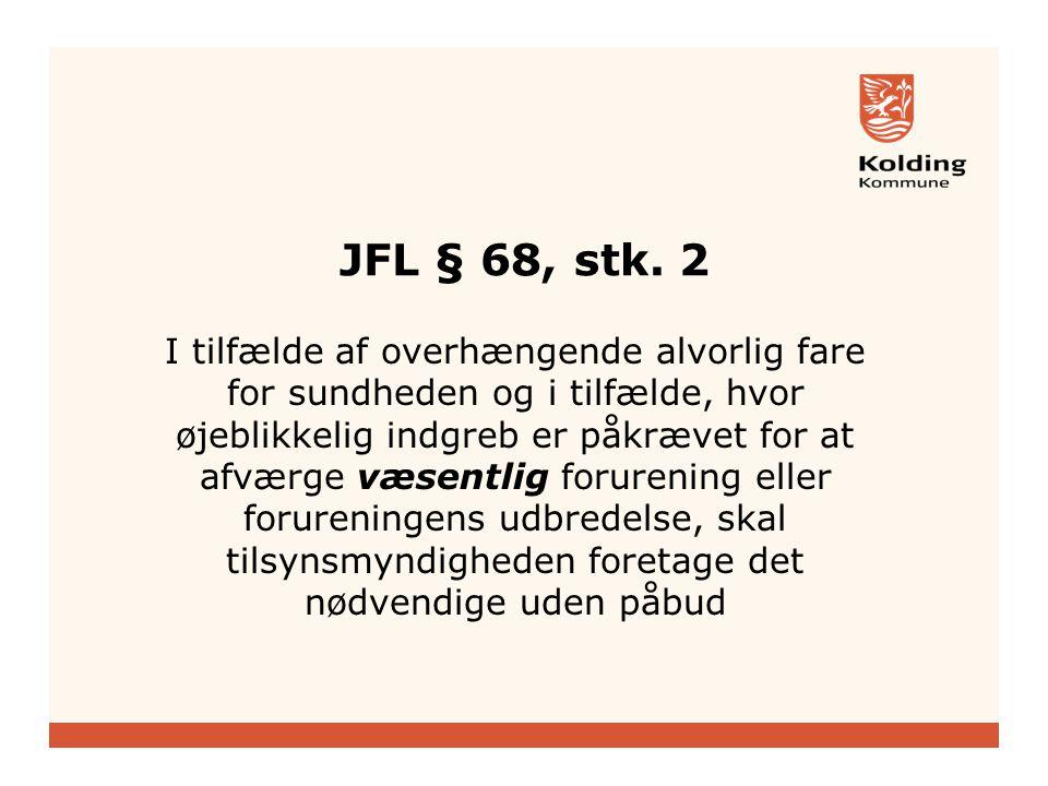 JFL § 68, stk.