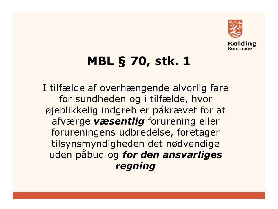 MBL § 70, stk.