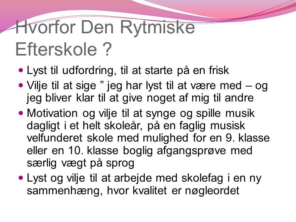 Årsrytmen 2011/2012  26 til 27 ugers rugbrødsskema  Projektuger:  Intro  Tema  Musical  Koncerter omkring nytår  Selvvalgt opgave – også for 9.