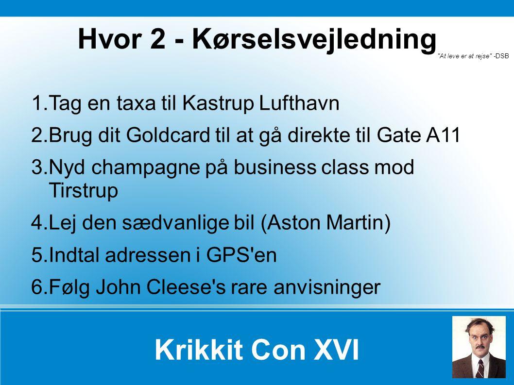 Krikkit Con XVI Den fede dame er den fortsatte serie af sære begivenheder i Århus og omegn (hvis Narnia ellers tæller med).