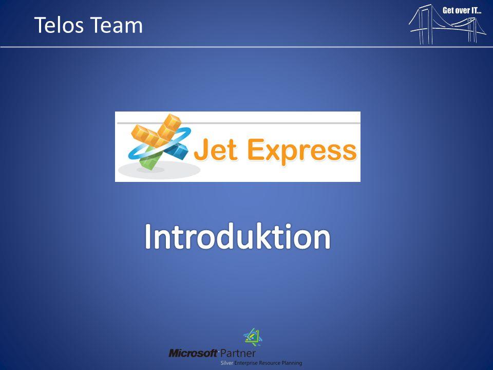 Introduktion: • Jet Reports Express er et tilføjelses program til Microsoft Excel • Jet Reports Express er et gratis produkt til at hente data fra Microsoft Dynamics NAV 2009 • Har man et opdaterings abonnement til sin Microsoft Dynamics NAV løsning, kan man anvende produktet ved bare at opdatere sin NAV klient • Jet Reports Express tilhører en større familie, hvor man kan få versionerne: - Jet Reports Express(*Gratis – kun til NAV) - Jet Reports Essentials(Her kan man bygge stort set alt!) - Jet Reports Enterprise(Mulighed for at bygge kuber – BI værktøj) • Krav for installation: - Microsoft Dynamics NAV 2009 -> - Microsoft Excel 2007 -> - Windows XP, Server 2003, Server 2007, Vista, 7 -> • Jet Reports Express virker til både NAV Native og SQL