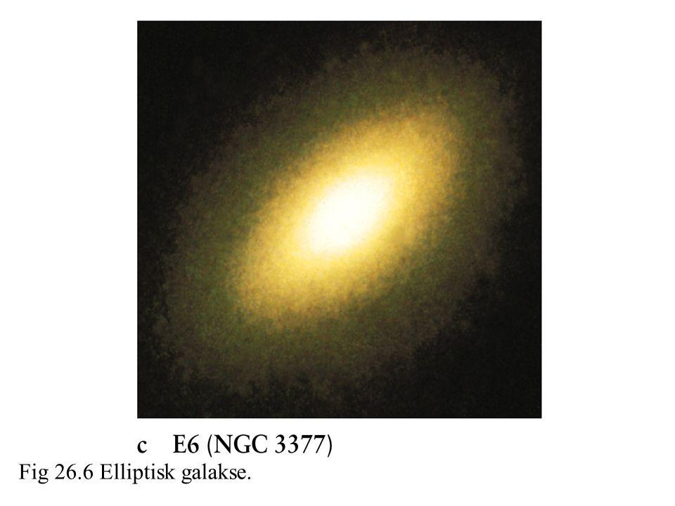 Fig 26.6 Elliptisk galakse.