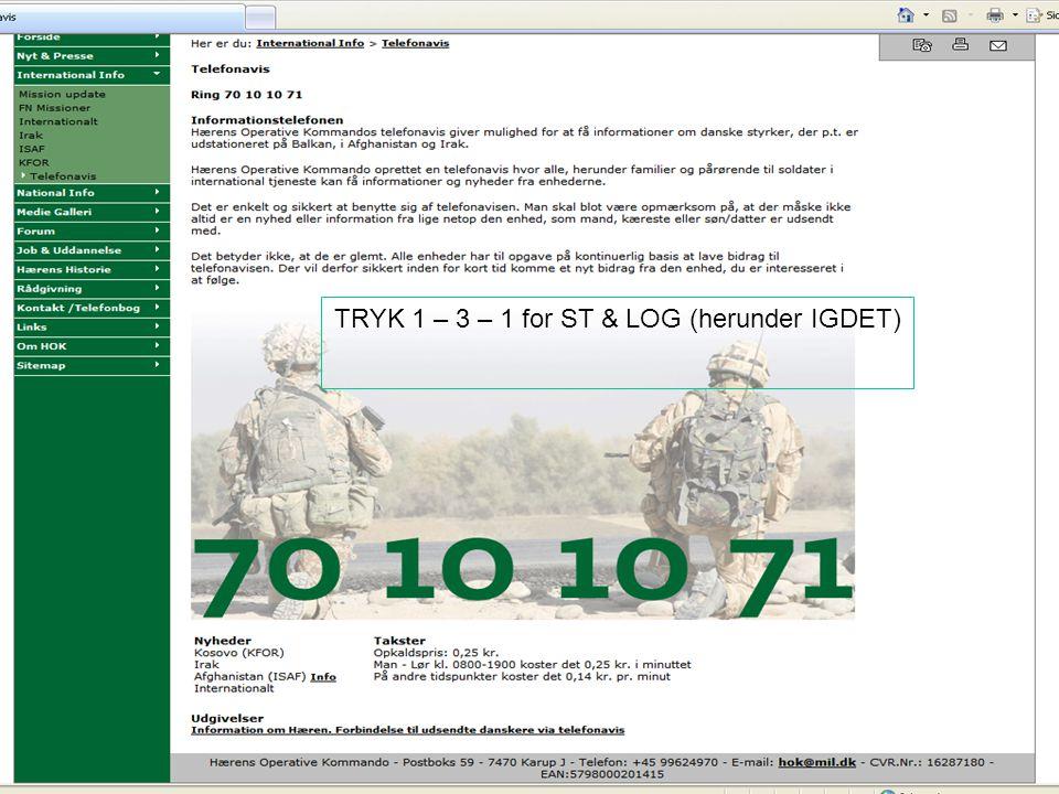 GSE Internationalt Info