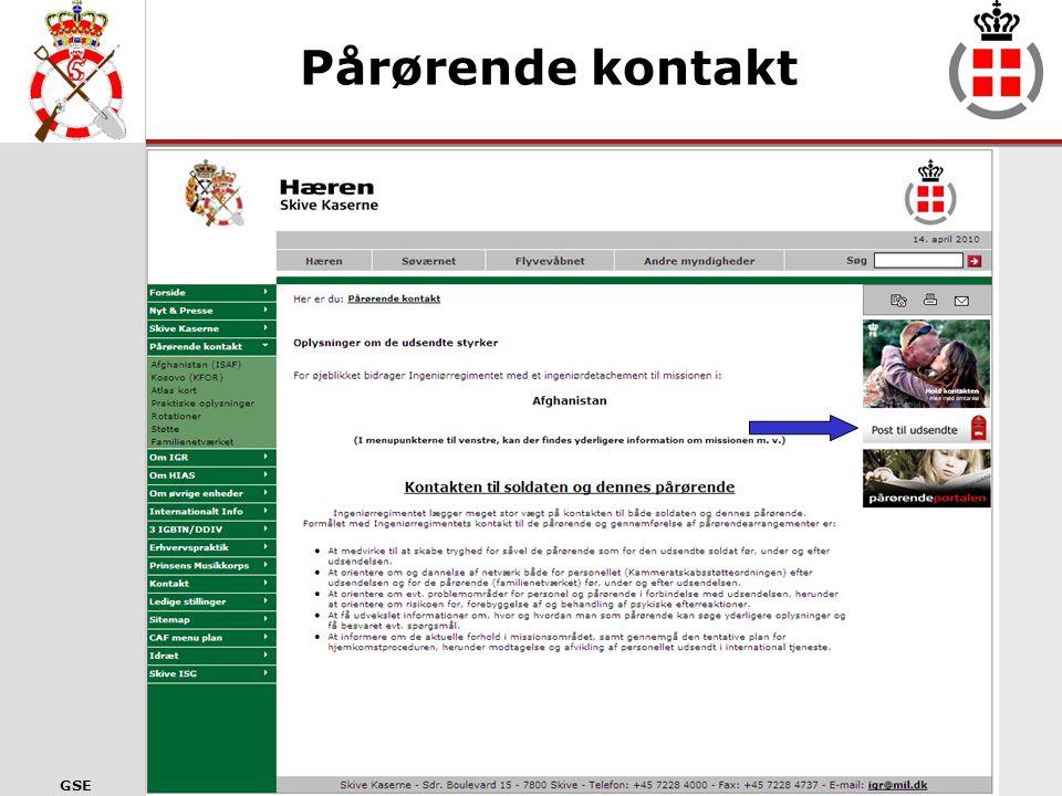 GSE IGR´s Hjemmeside
