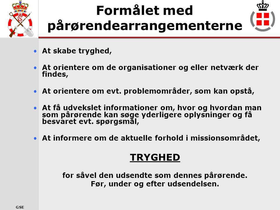 GSE www.forsvaret.dk/HOK www.forsvaret.dk/hok HOK´s Hjemmeside