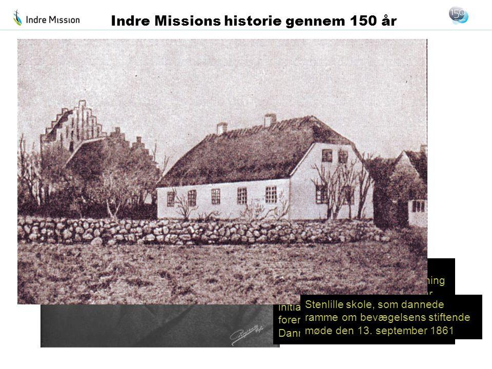 Provst C.F. Rønne sad i bestyrelsen for den første forening for Indre Mission af 1853 og var initiativtager til den nye »Kirkelig forening for den Ind
