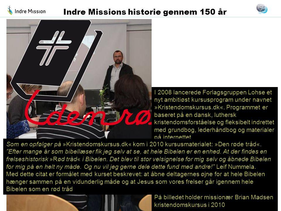 I 2008 lancerede Forlagsgruppen Lohse et nyt ambitiøst kursusprogram under navnet »Kristendomskursus.dk«. Programmet er baseret på en dansk, luthersk