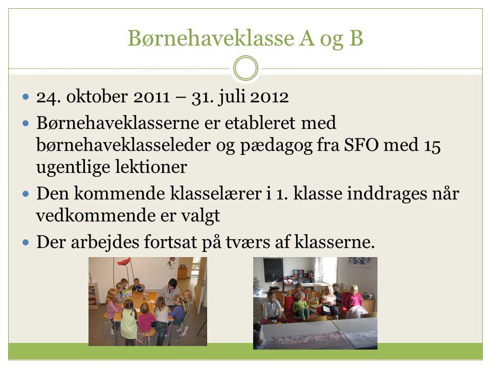 Børnehuset Østervang - SFO  Pædagogen, som er med i førskolegruppen og i børnehaveklassen, fungerer som primærpædagog i SFO'en til og med 3.