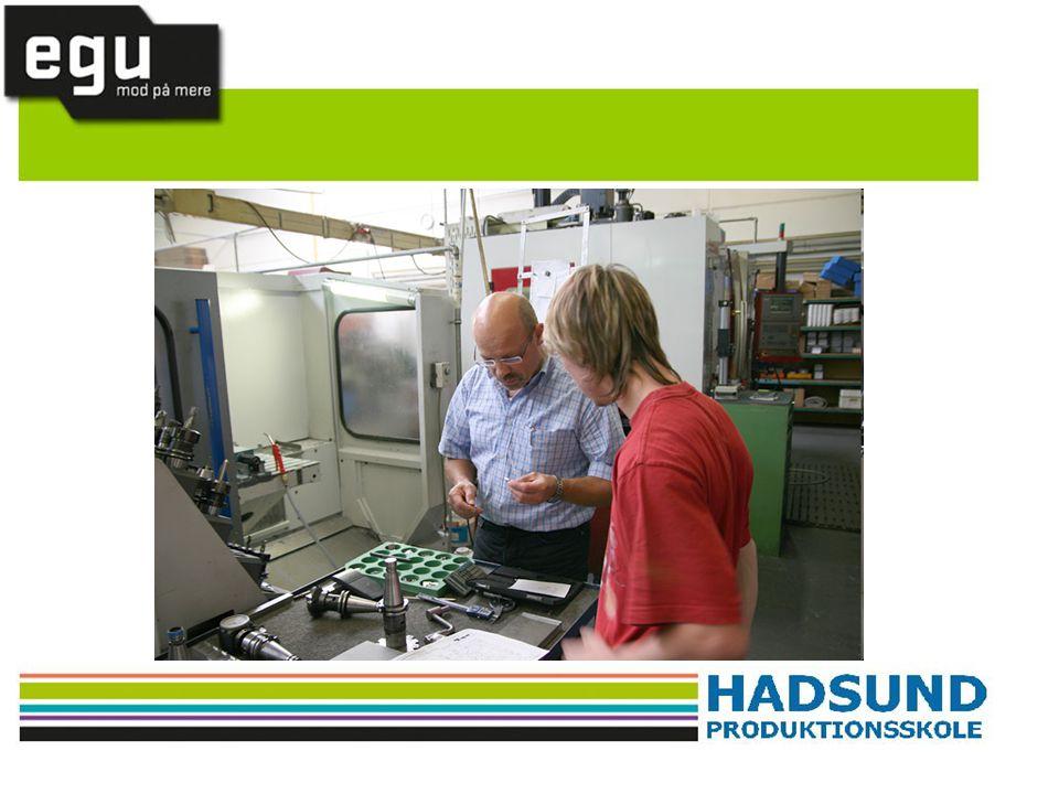 Vil du vide mere omkring EGU uddannelsen, så læs mere på www.hadprod.dk eller kontakt skolens EGU vejleder.