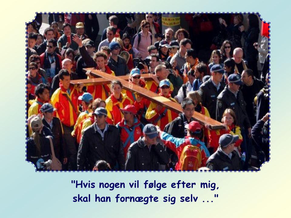 Og hvor skal man sætte dem? I de spor Kristus selv har vist dig, da Han gik her på jorden: det er Hans ord. I dag siger Han atter til dig: