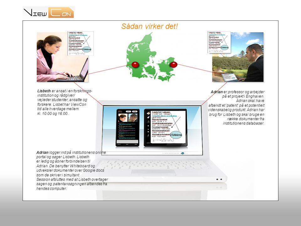Start med at logge på ViewCon fungerer ved, at man åbner sin helt egen ViewCon portal og logger sig ind.
