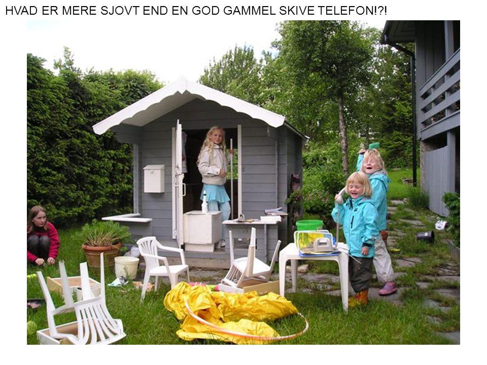 HVAD ER MERE SJOVT END EN GOD GAMMEL SKIVE TELEFON!?!