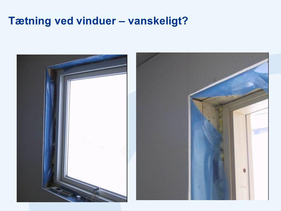 Tætning ved vinduer – vanskeligt?