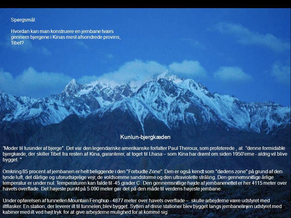 """Kunlun-bjergkæden """"Moder til tusinder af bjerge"""