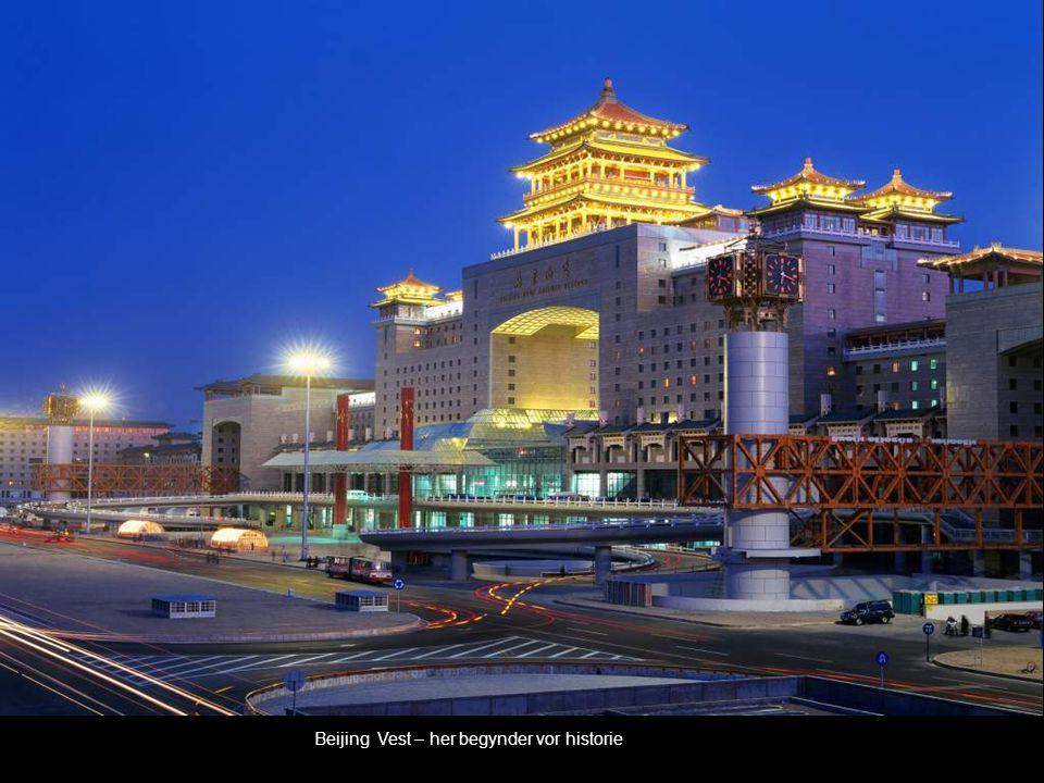 Beijing Vest – her begynder vor historie