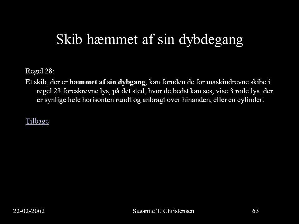 22-02-2002Susanne T.Christensen63 23-02-2002Susanne T.