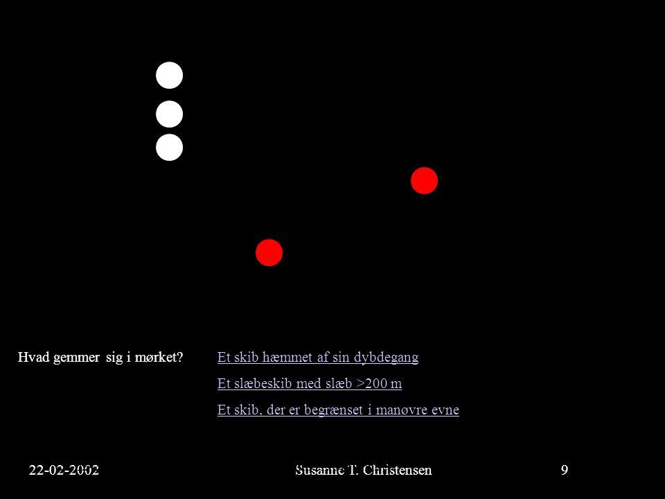 22-02-2002Susanne T.Christensen20 23-02-2002Susanne T.