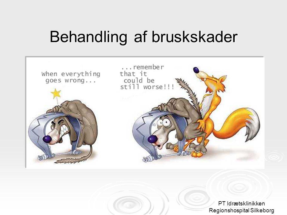 PT Idrætsklinikken Regionshospital Silkeborg Behandling af bruskskader OG HUSK: