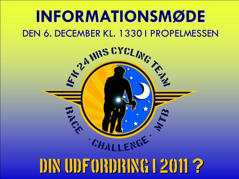 INFORMATIONSMØDE DEN 6. DECEMBER KL. 1330 I PROPELMESSEN
