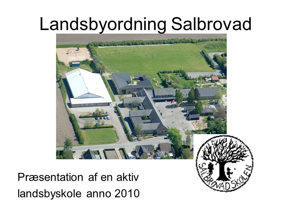 Salbrovadskolens historie: •1958: Indvies den nye Salbrovadskole.