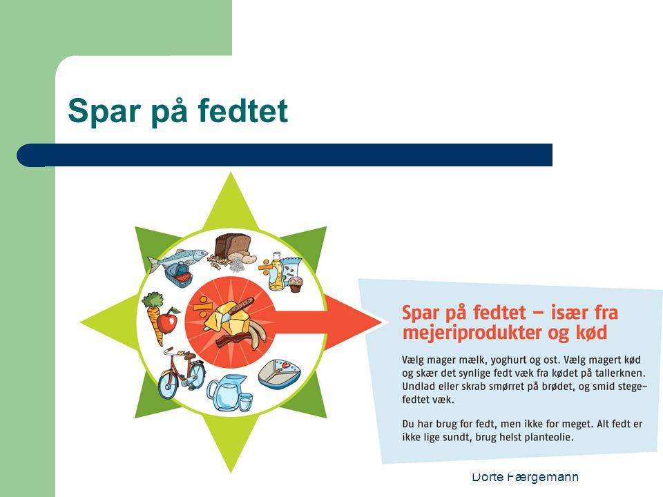 Dorte Færgemann Spar på fedtet