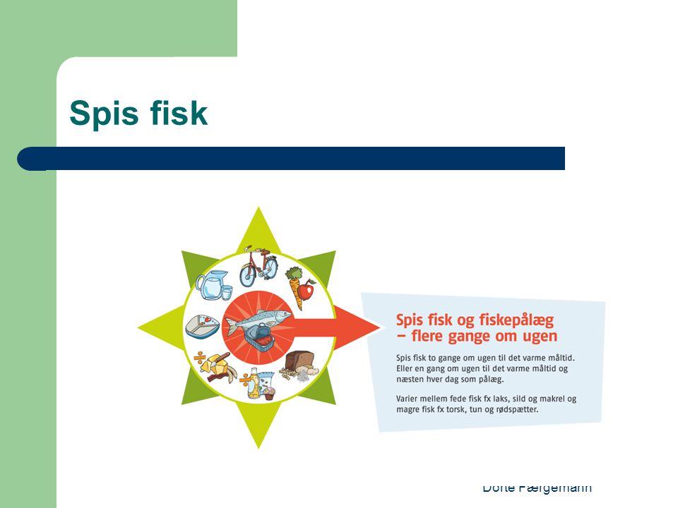 Dorte Færgemann Spis fisk