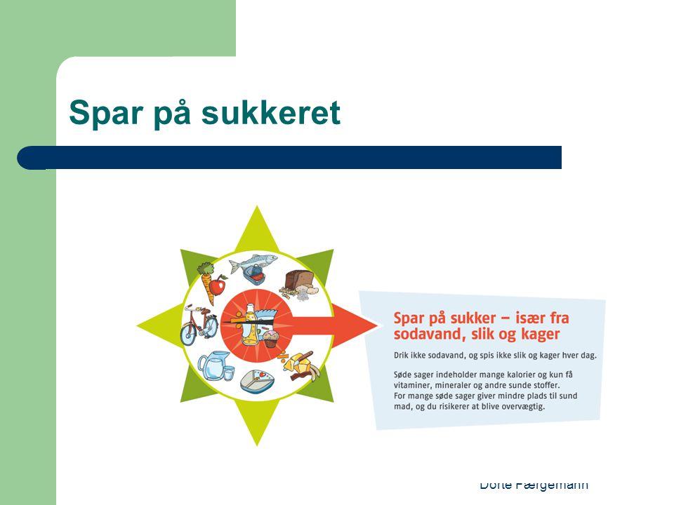 Dorte Færgemann Spar på sukkeret