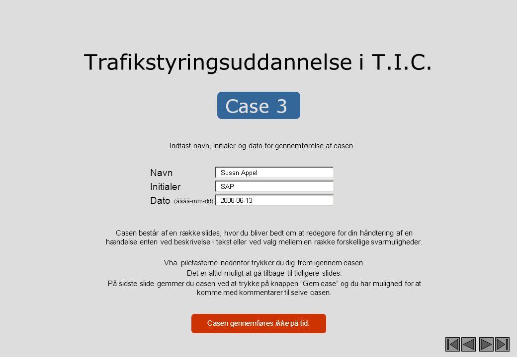 Case 3 Situationsbeskrivelse Læs grundigt de input du får til casen, inden du går i gang med løsningen.