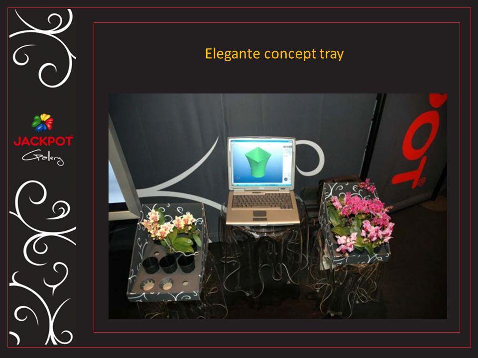Elegante concept tray